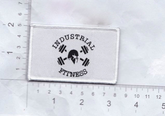 Black on White Morale Patch
