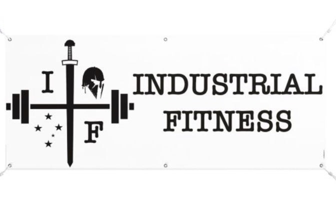 NEW Limited edition Industrial Fitness indoor/ outdoor flag