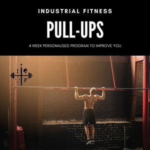 4 Week Program Pull-up Program