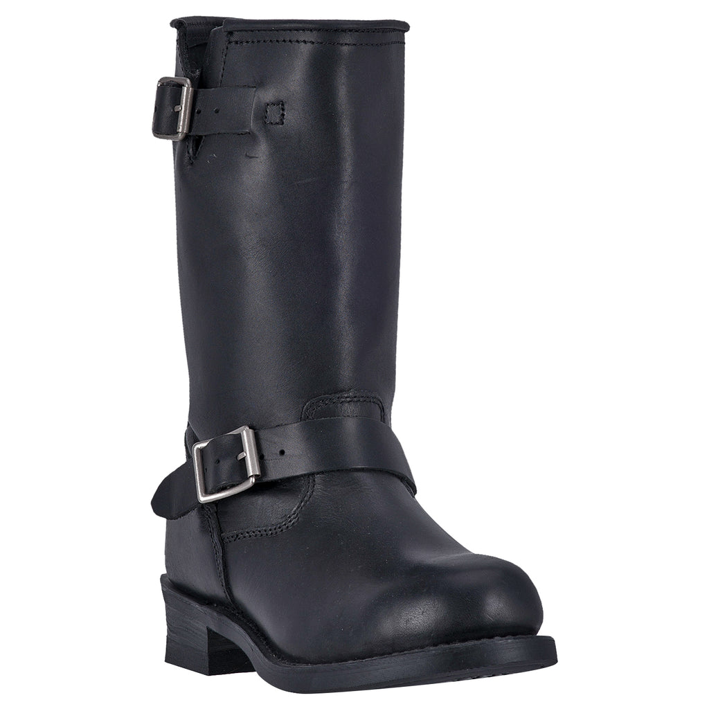 Angle 1, REV UP LEATHER HARNESS BOOT