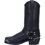 Angle 3, CHOPPER LEATHER HARNESS BOOT
