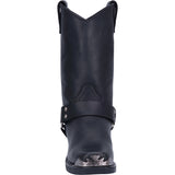 Angle 5, CHOPPER LEATHER HARNESS BOOT