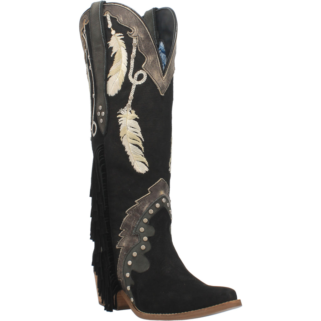 Angle 1, #DREAM CATCHER LEATHER BOOT