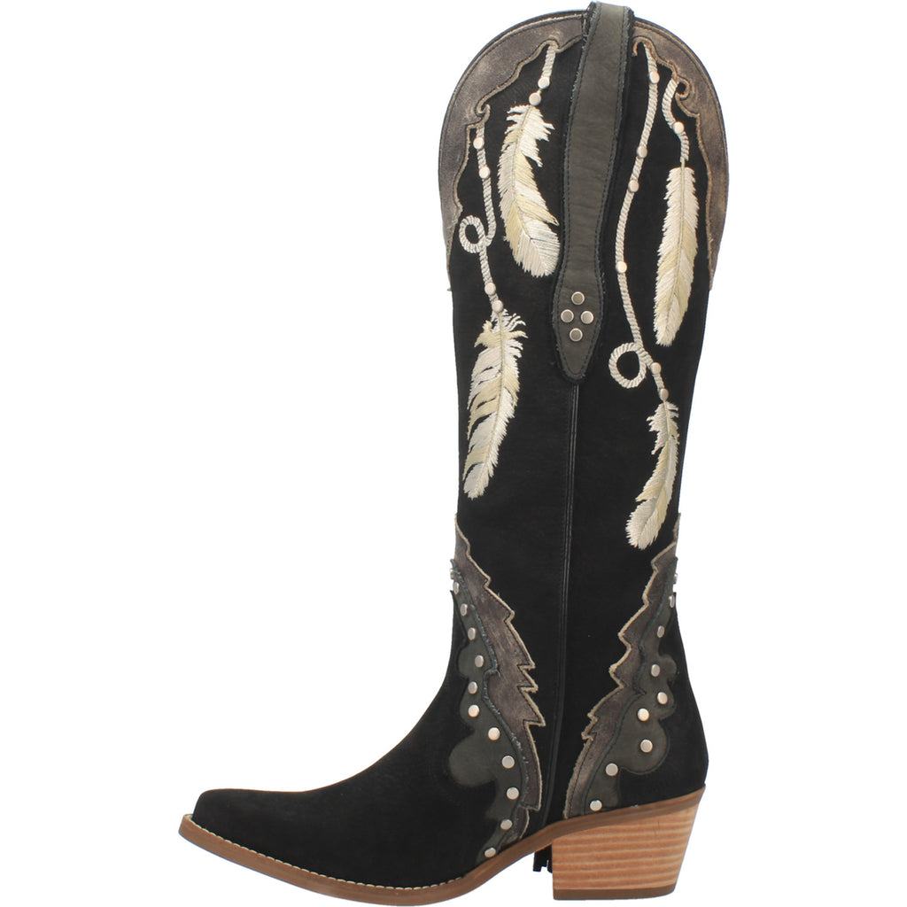 Angle 3, #DREAM CATCHER LEATHER BOOT