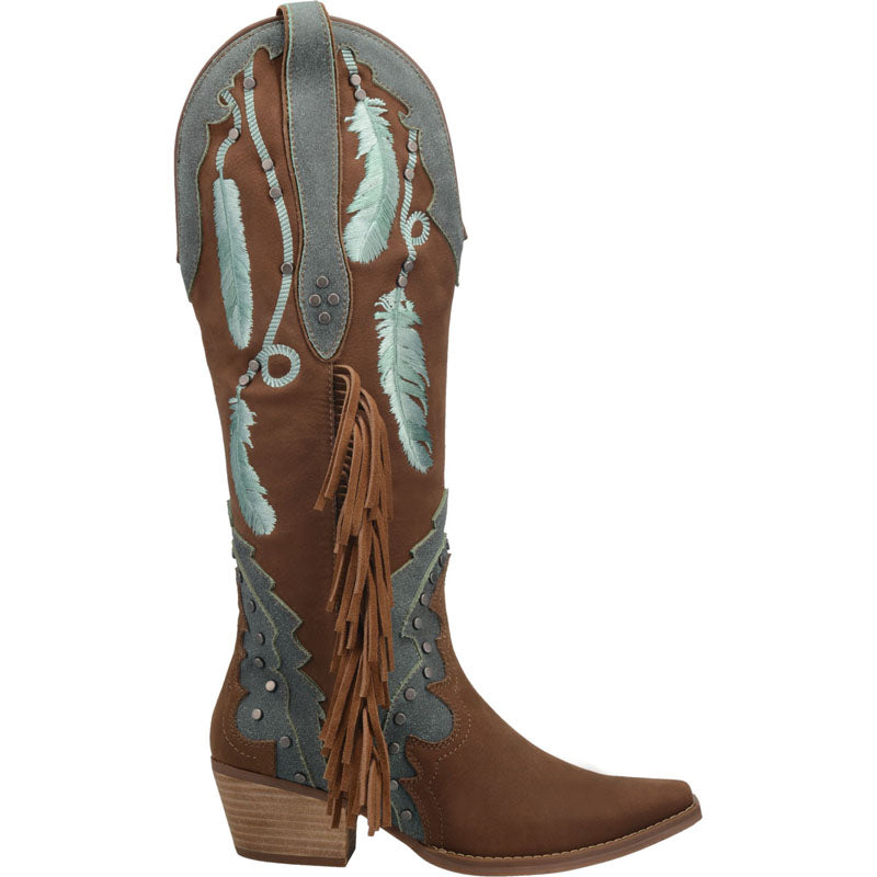 Angle 2, #DREAM CATCHER LEATHER BOOT