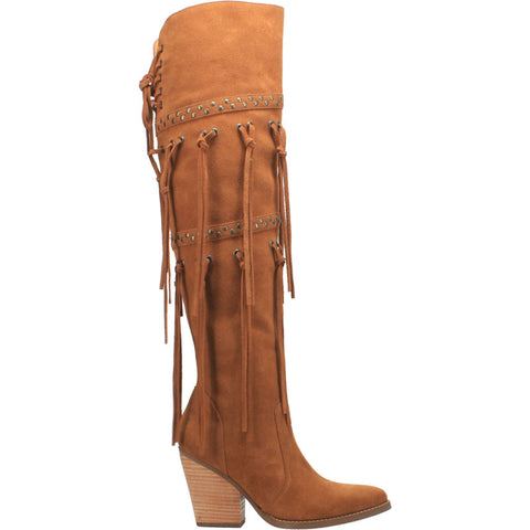 #WITCHY WOMAN LEATHER BOOT - Dingo 1969