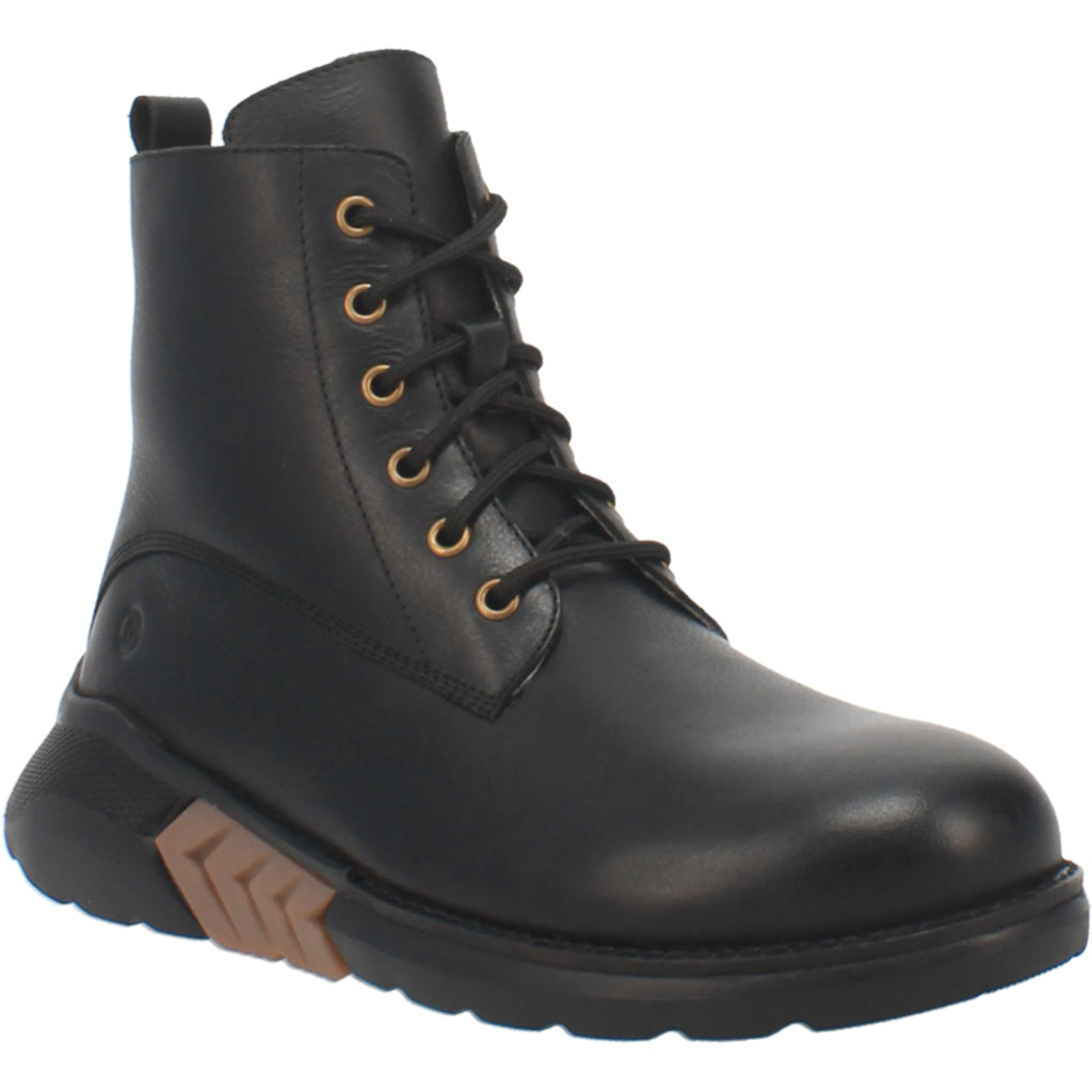 Angle 1, #BLACKTOP LEATHER BOOT
