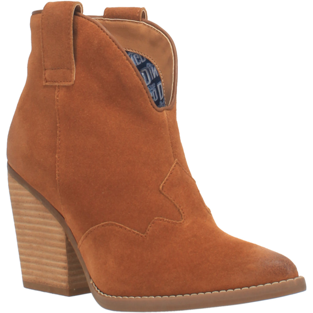 Angle 1, #FLANNIE LEATHER BOOTIE