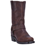 MOLLY LEATHER HARNESS BOOT - Dingo 1969