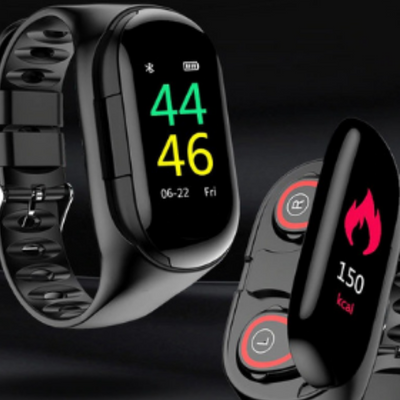 Smart Watch Con Audifonos Bluetooth