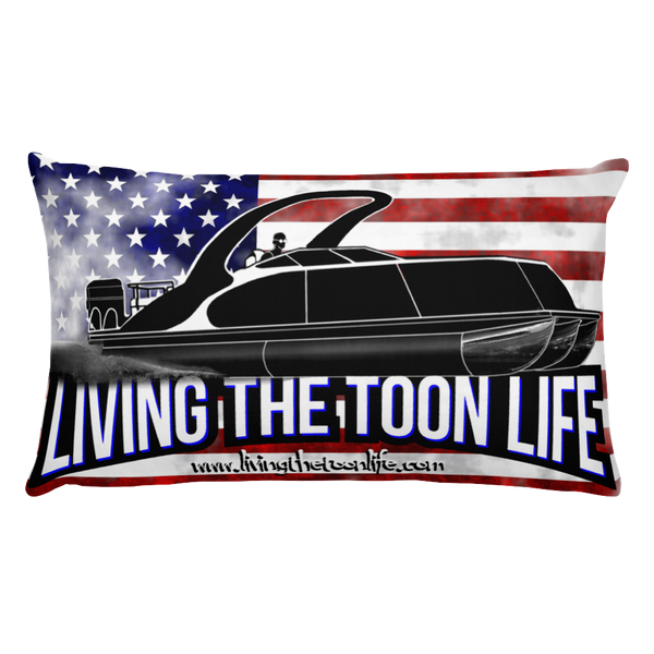 Living The Toon Life Lifestyle Pillow