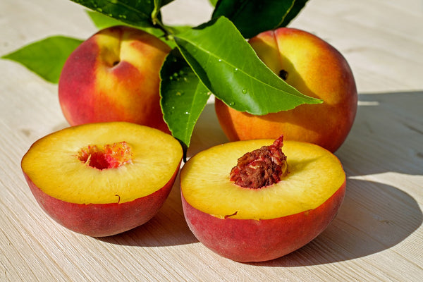 Peach pits are toxic for dogs