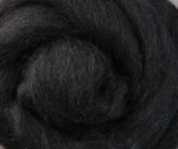 Black Corriedale Wool Roving
