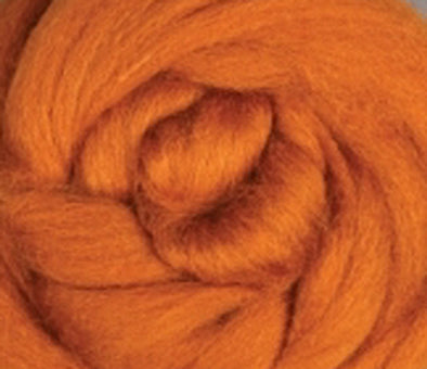 Toffee Corriedale Wool Roving
