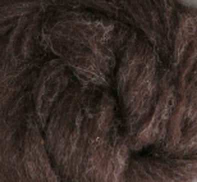 Dark Natural Corriedale Wool Roving