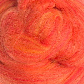 Extra Fine Merino Candy 19 Microns One Ounce Sicilian Oranges