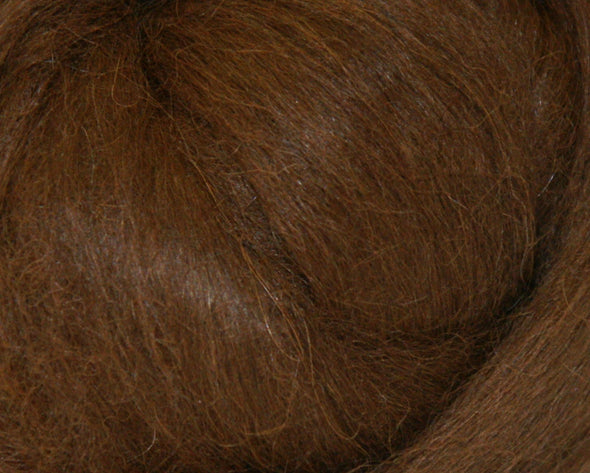 Dark Brown Baby Alpaca Two Ounces