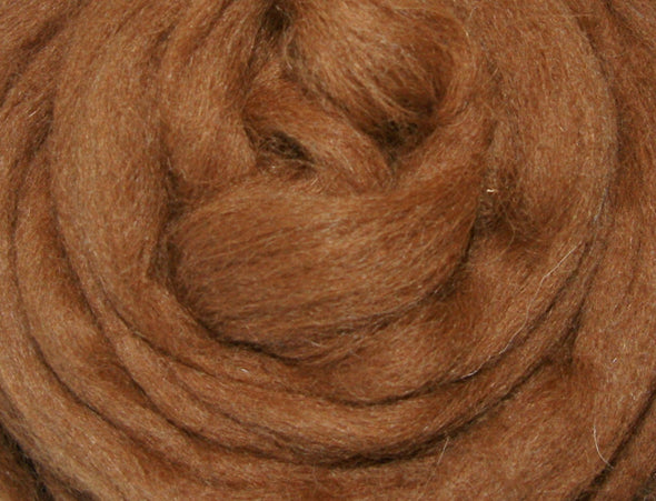Medium Brown Alpaca Roving