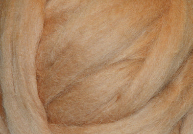 Camel Corriedale Wool Roving