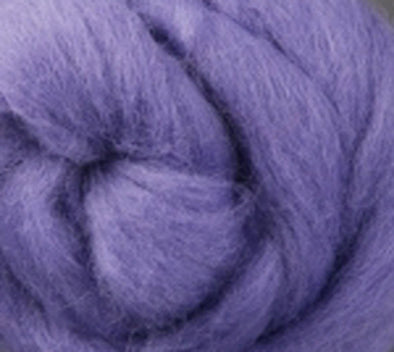 Lavender Corriedale Wool Roving