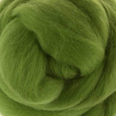 Extra Fine Merino Roving 19 Microns One Ounce Leaf