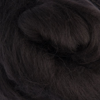 Extra Fine Merino Roving 19 Microns One Ounce Coffee