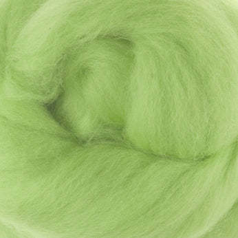 Extra Fine Merino Roving 19 Microns One Ounce Chlorophyll
