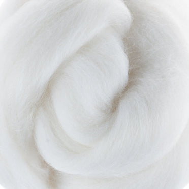 Extra Fine Merino Roving 19 Microns One Ounce Milk