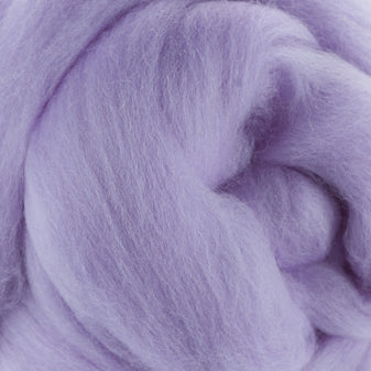 Extra Fine Merino Roving 19 Microns One Ounce Lavender