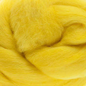Extra Fine Merino Roving 19 Microns One Ounce Sun