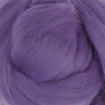 Extra Fine Merino Roving 19 Microns One Ounce Violet