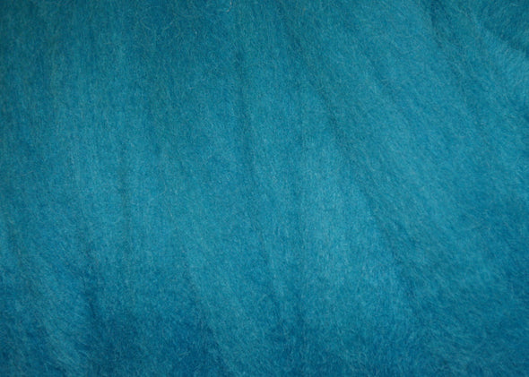 Turquoise Corriedale Wool Roving