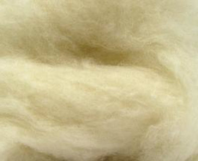 Natural White Bulky Carded Corriedale