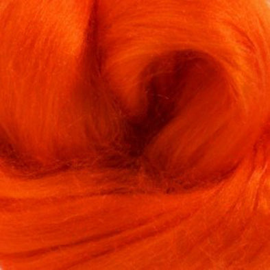 Tussah Silk Top Orange One Ounce