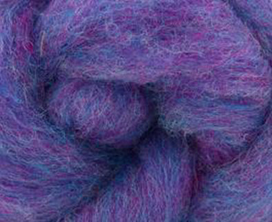 Parma Violet Bulky Carded Corriedale