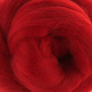 Merino Tussah Silk Tops - Passion