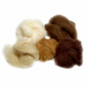 Extra Fine Merino 19 Micron Warm Brown