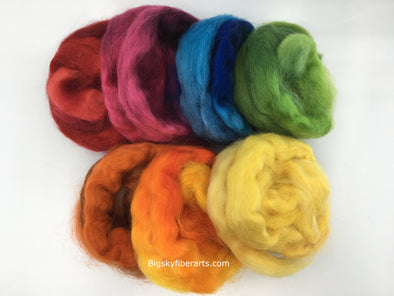 Wensleydale Rainbow Collection