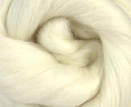 White Baby Alpaca Two Ounces