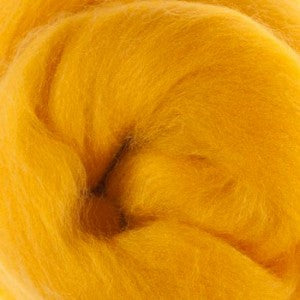 Extra Fine Merino Roving 19 Microns One Ounce Yolk