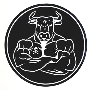 BUILT ON BEEF - Vinyl Sticker