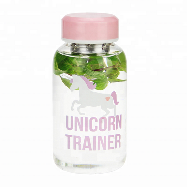 Pink Unicorn Trainer Water Bottle