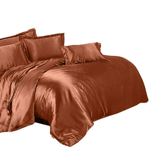Luxury 4 Piece Satin Bedding Set