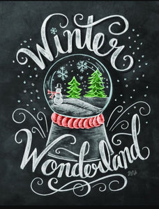 """Wonderland"" Blackboard Diamond Art Kit - Fancier Living"