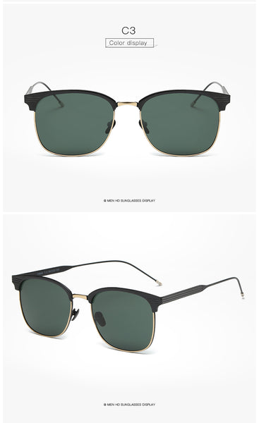 Classic Cat Eye Vintage Alloy Sunglasses - Fancier Living