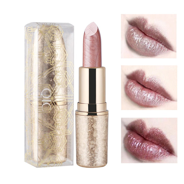 QIC Gold Luxurious Shimmering Lipstick