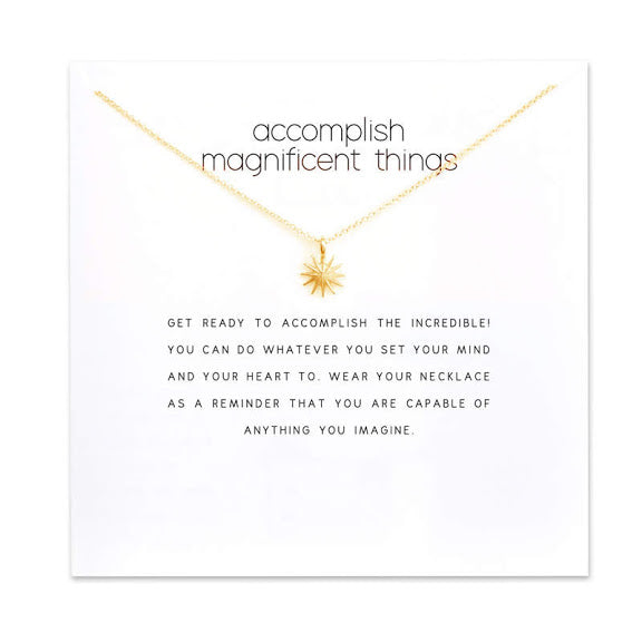 Accomplish Charm Necklace
