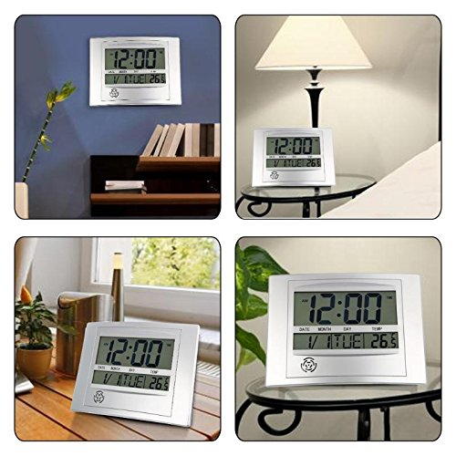 Digital Time, Date & Thermometer Clock