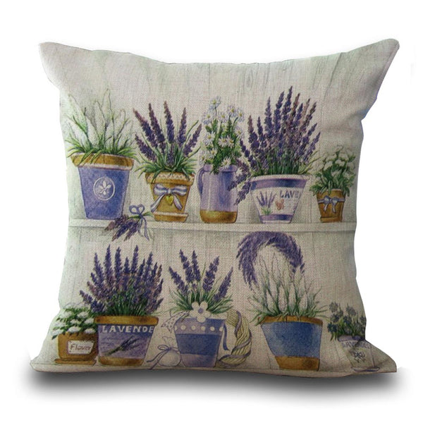 Quaint Country Garden Cushion Covers