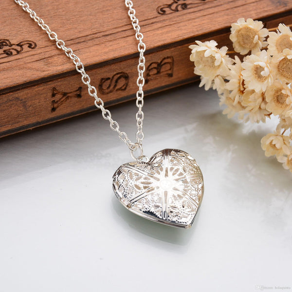 Heart Shaped Photo Frame Locket